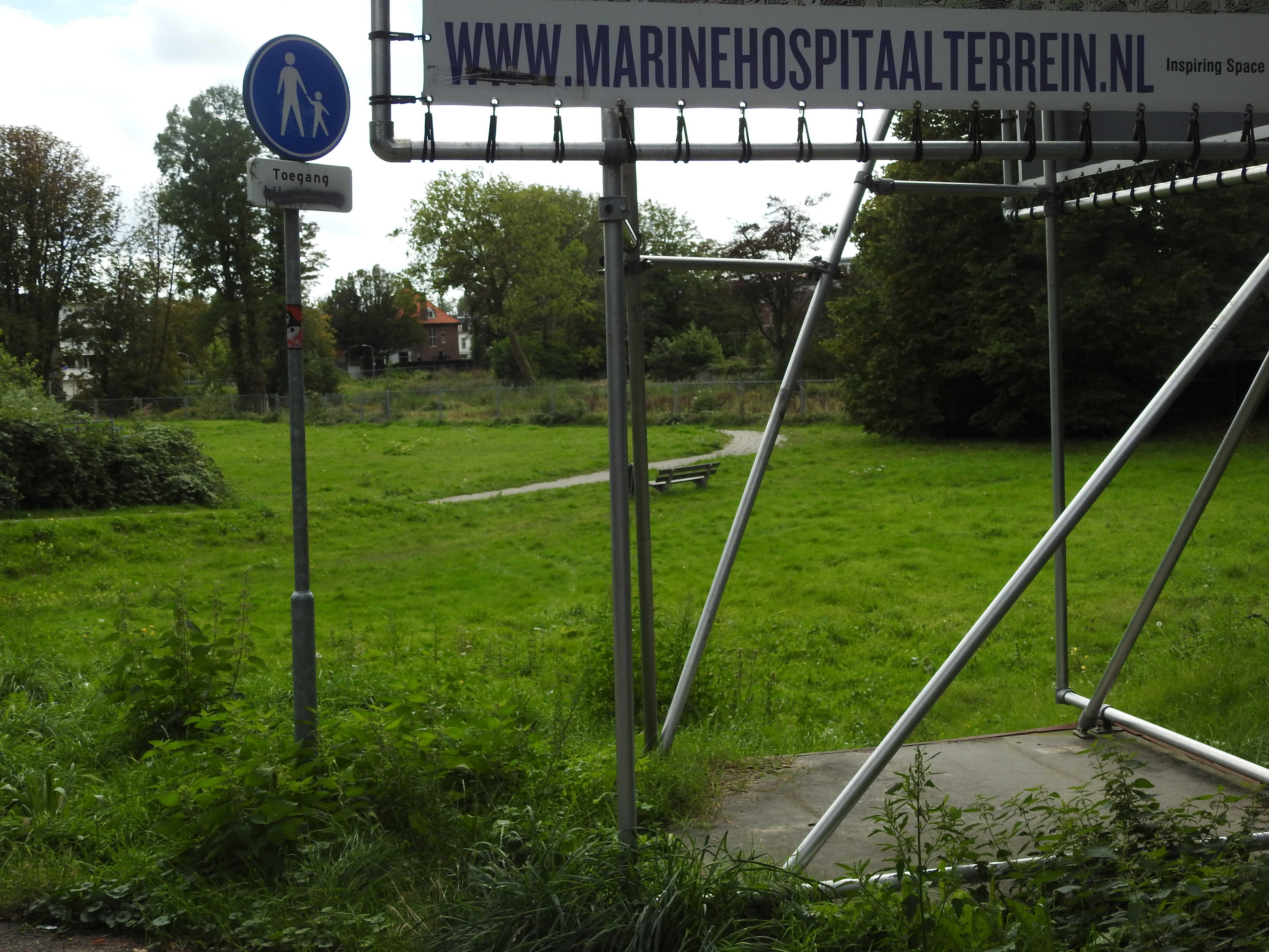 Marinehospitaal terrein